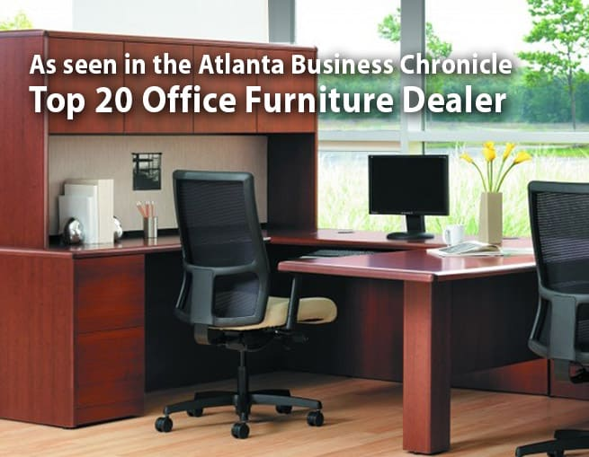 McGaritys is a Top 20 Office Furniture Dealer