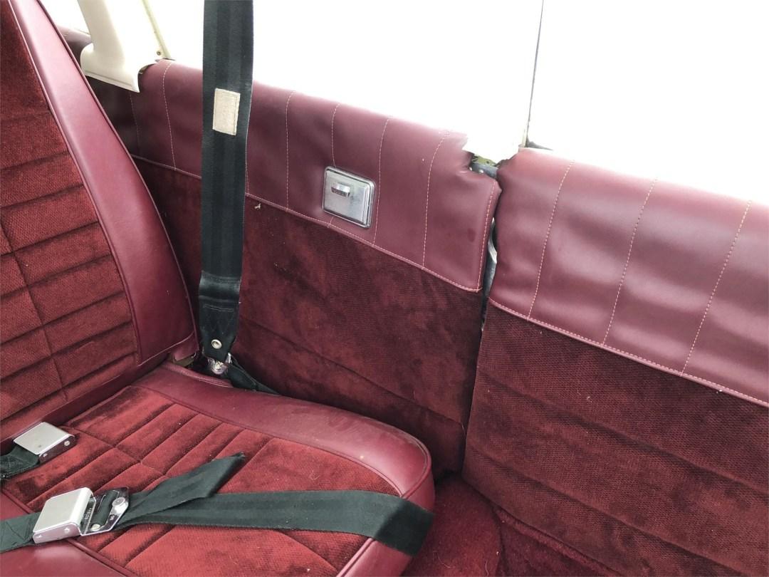 1973 PIPER ARROW II rear seating left side