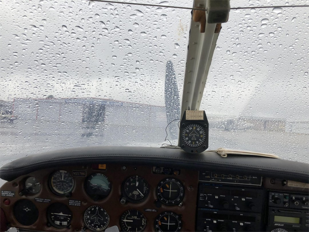 1973 PIPER ARROW II windshield