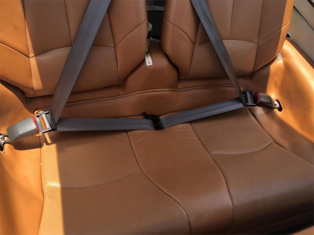 2008 DIAMOND DA40 XLS great interior condition brown leather and seatbelts