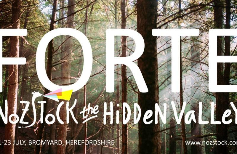 Jason Young to play at Forte at Nozstock the Hidden Valley Herefordshire UK