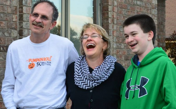 Paul and his wife, Donna, and son, Ben, are special people