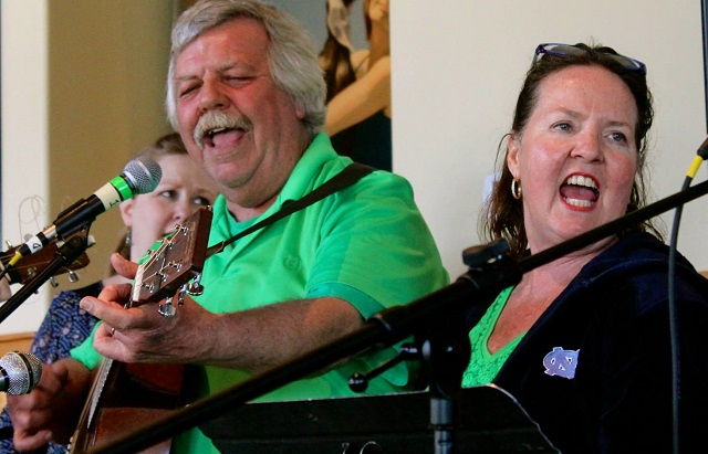 Steve and Robin Harrill love music of all kinds