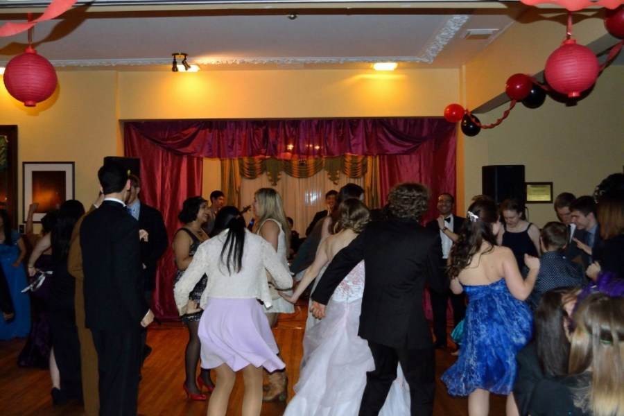 Dancing at the 2014 Newman Ball (photo credit unknown)