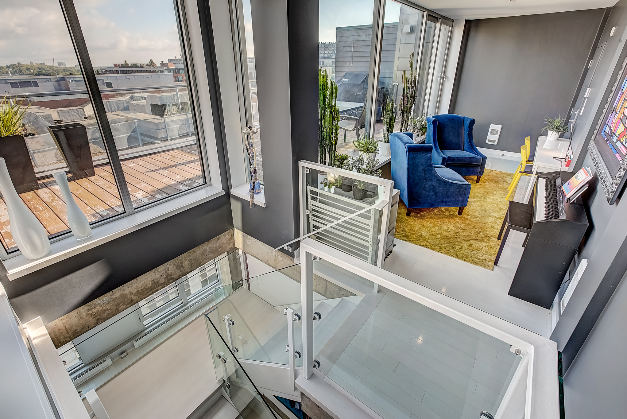 Penthouse Condo For Sale Old Montreal Mcgill Real Estate