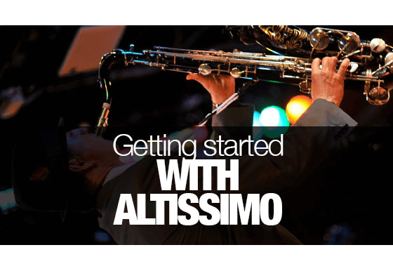 Getting started with altissimo.