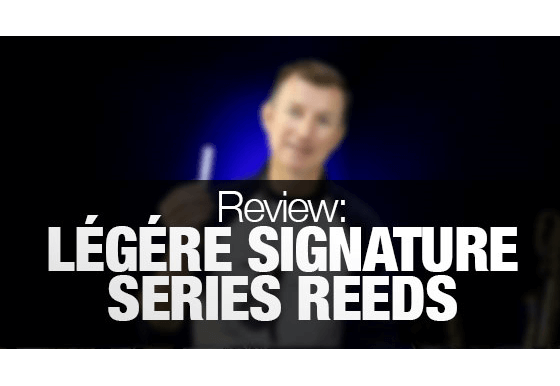 Légére synthetic saxophone reed review