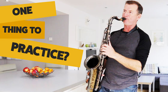 What is the One Thing you should practice?