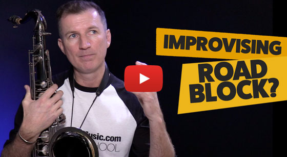 Feeling stuck with your improvising? Try this!