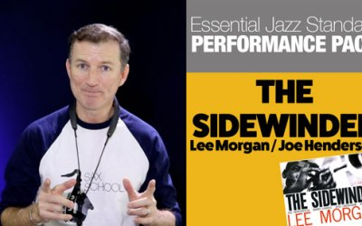 Learn The Sidewinder on Saxophone