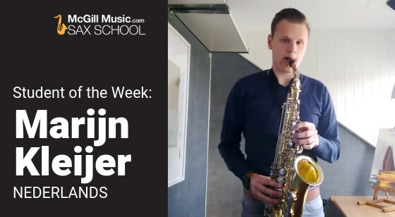 Marijn Kleijer – Student of the Week!