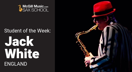 Jack White is our Student of the Week!