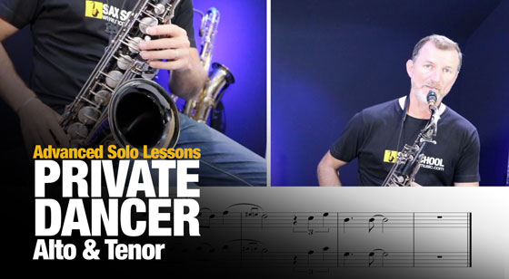 "Learn the ""Private Dancer"" Sax Solo, but better!"