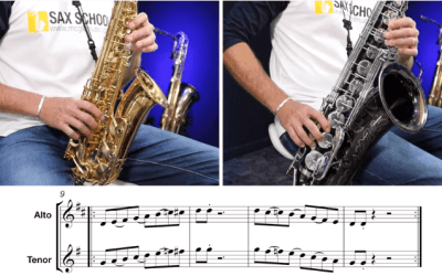 5 Minute Be Bop Articulation Workout for saxophone