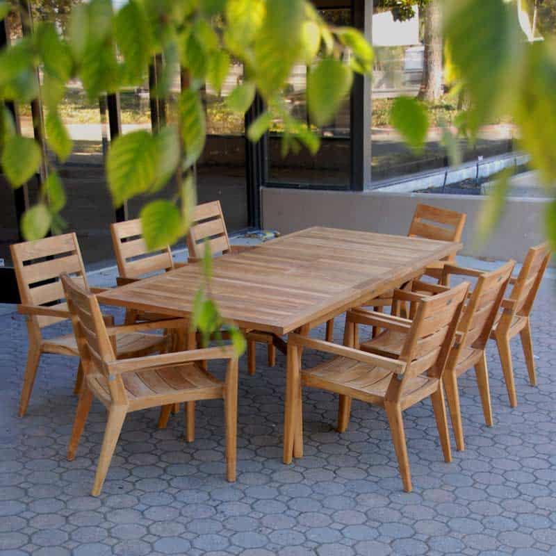 36 teak patio dining table quality teak