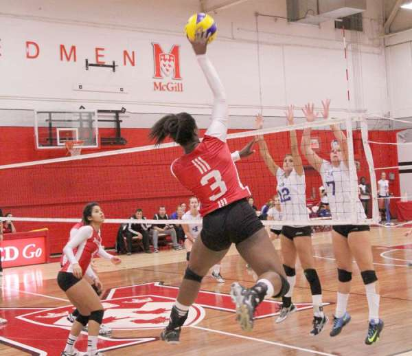 Volleyball: McGill eliminated at hands of Vert-et-Or | The ...