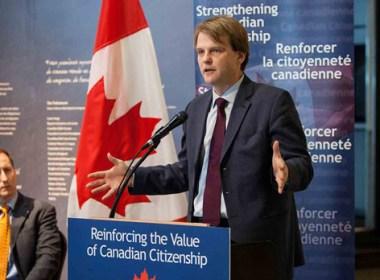 immigration minister chris alexander
