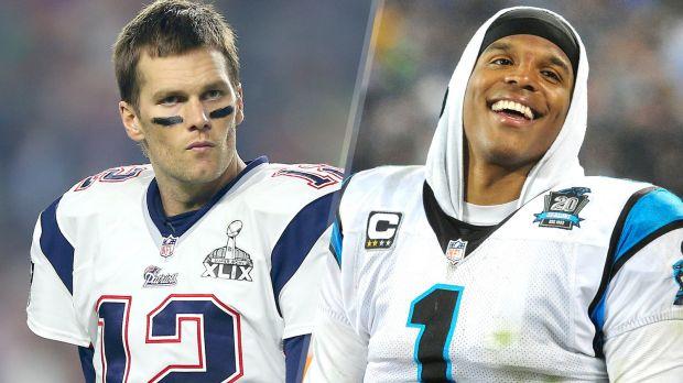 dbd263c86 Point-counterpoint  Tom Brady vs. Cam Newton