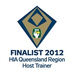 Finalist 2012 HIA-CSR Queensland Region Housing Awards Host Trainer