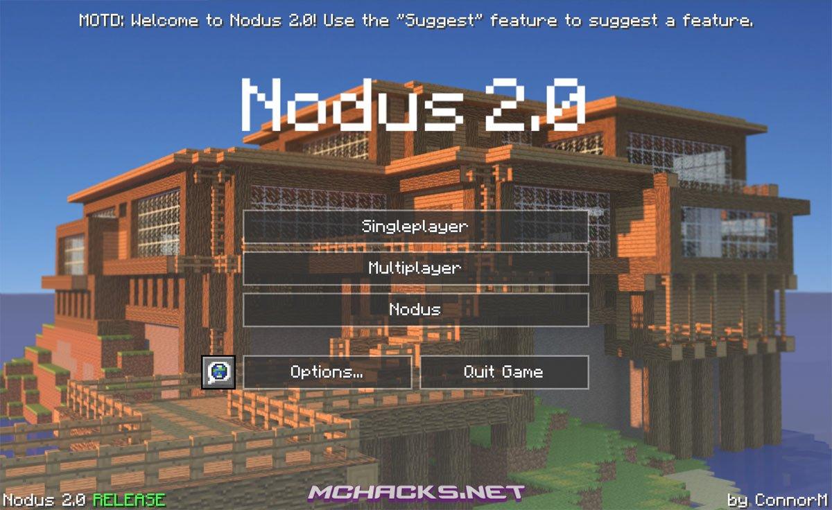 Nodus 20 Hacked Client WOptiFine Download For