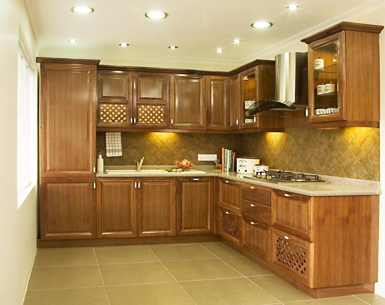 Modular kitchen in Chennai with the attractive features on Model Kitchen Images  id=91564