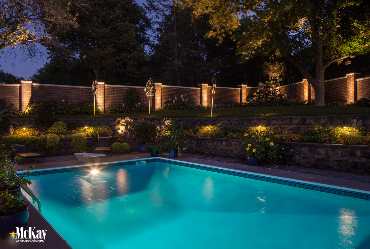 pool lighting ideas to increase safety