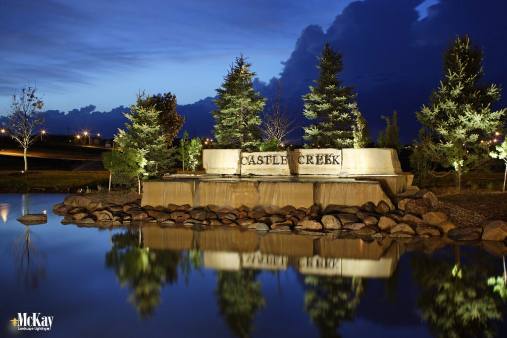commercial outdoor lighting for