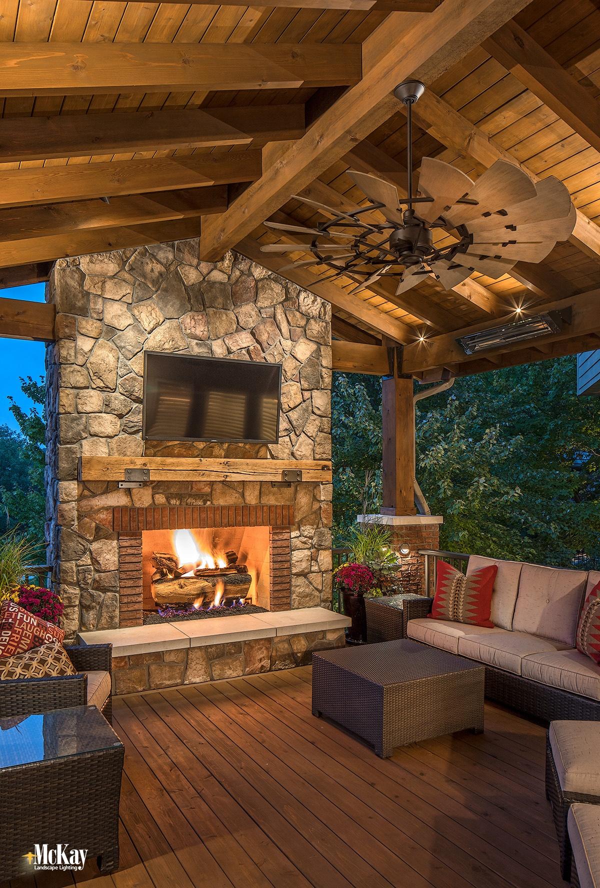 outdoor deck lighting ideas to make it