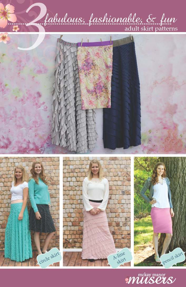 3 Adult Skirts