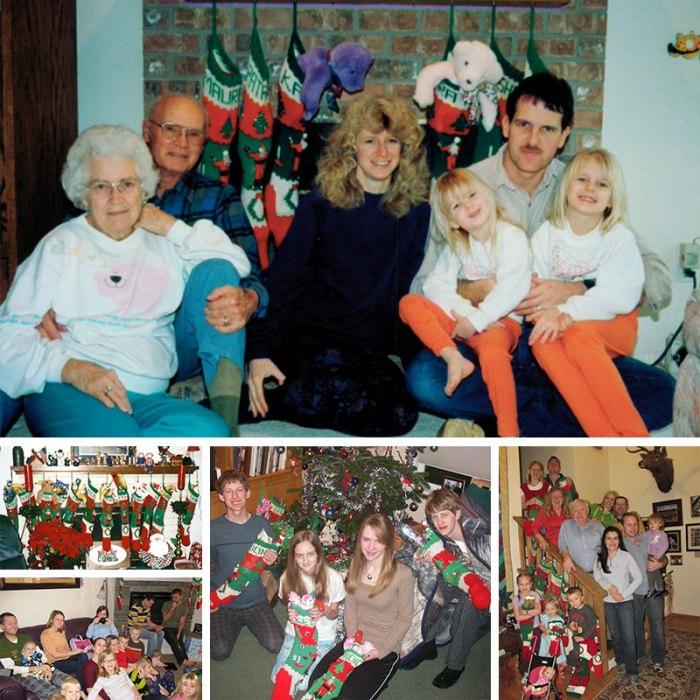 Christmas stocking collection growing