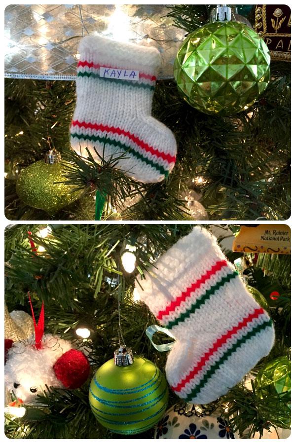 Stockings made by Lorene