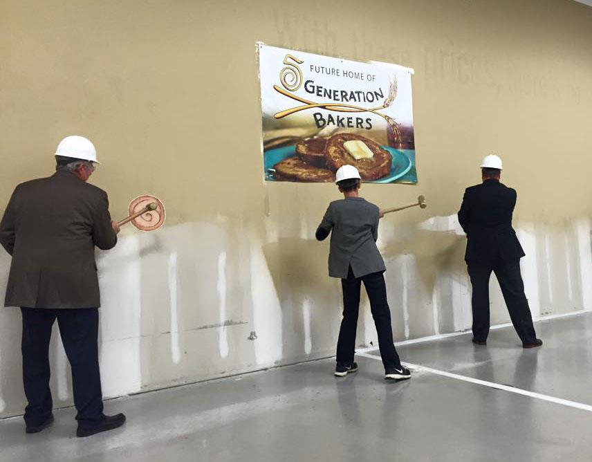 5 generation bakers groundbreaking