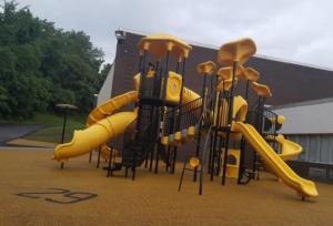 Black and gold playground