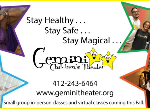 Gemini Theater offers in-person and virtual classes