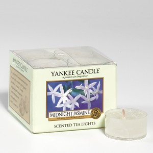 Teelichter Midnight Jasmin Yankee Candle