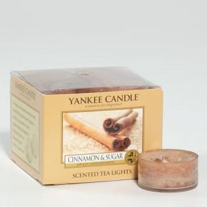 Cinnamon & Sugar teelichter