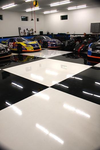 Industrial Flooring/ Paint Chip Flooring