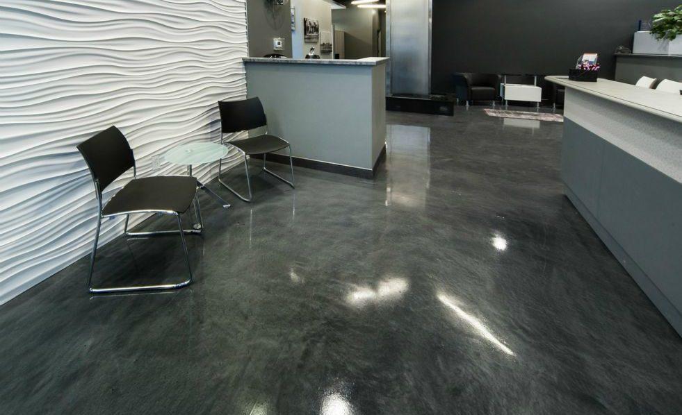 Grey Metallic Epoxy Coating for Floors