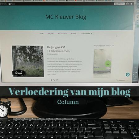 Verloedering van mijn blog
