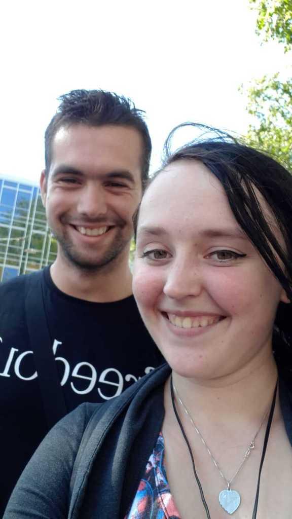 duurzame internetvriendschappen Mitchel en Amber