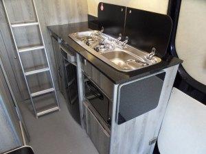 sprinter sporthome kitchen set up