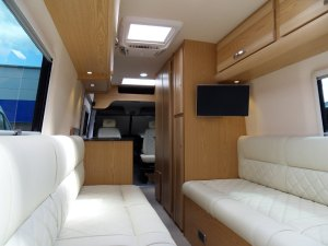 Mercedes motorhome rear view