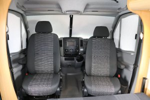 cab swivelling seats