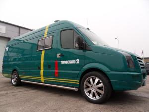 VW Crafter Sporthome exterior front