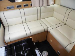 VW Crafter L shape seating