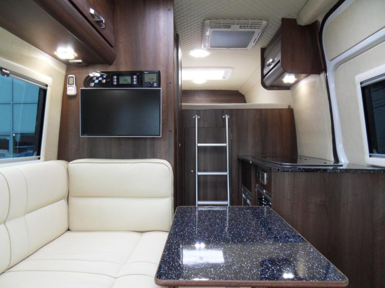 Vw Crafter 2 Berth Sporthome Bench Seat Layout Mclaren