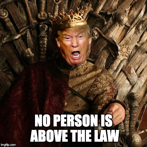 No Person is Above the Law - Kim Wingerei - writer
