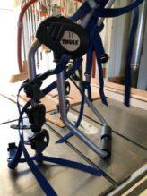 Thule strap on bike rack