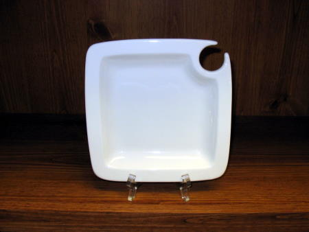McLean Sherwood Rentals Cocktail Plate White Square