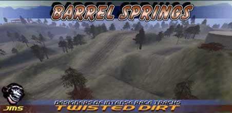 Motocross Madness 2 Nationals Track Barrel Springs